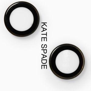 *FIRM*NWT [kate spade] Black & White Dot Earring